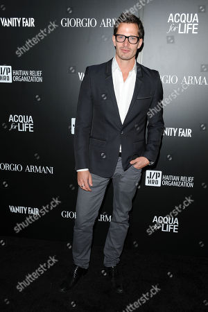 Liam Carson attends the Georgio Armani party to celebrate Paris Photo Los Angeles at Paramount Studios on in Los Angeles