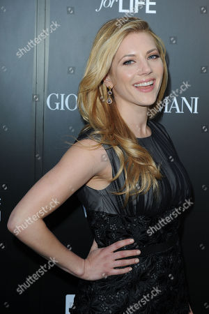 Katheryn Winnick attends the Georgio Armani party to celebrate Paris Photo Los Angeles at Paramount Studios on in Los Angeles