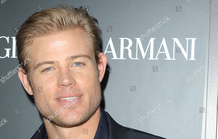 Trevor Donovan attends the Georgio Armani party to celebrate Paris Photo Los Angeles at Paramount Studios on in Los Angeles