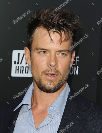 Josh Duhamel attends the Georgio Armani party to celebrate Paris Photo Los Angeles at Paramount Studios on in Los Angeles