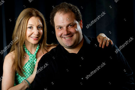 "Actors Donna Murphy and Jordan Gelber from the film ""Dark Horse"" pose for a portrait on in New York"