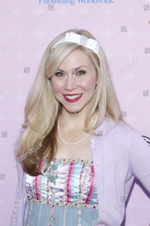"Actress Ashley Eckstein attends the premiere of ""Sofia the First: Once Upon a Princess"" at Disney Studios, in Burbank, Calif"