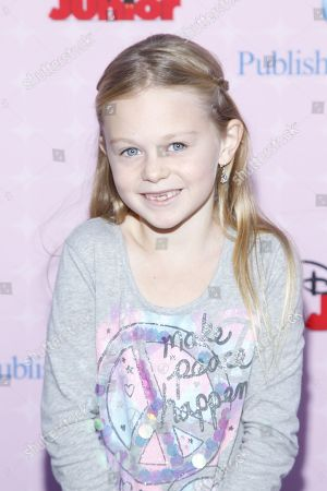 """Isabella Cramp attends the premiere of """"Sofia the First: Once Upon a Princess"""" at Disney Studios, in Burbank, Calif"""