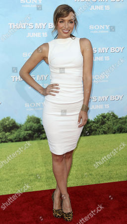 """Stock Picture of Rebecca Marshall arrives at the premiere of """"That's My Boy"""" on in Los Angeles"""