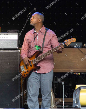Citizen Cope performs as the opener for Counting Crows during the Somewhere Under Wonderland Tour 2015 at Chastain Park Amphitheater, in Atlanta