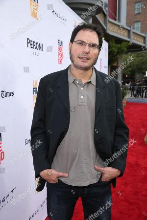 "Producer Carlos Cuaron seen at STX Entertainment's Premiere of ""Desierto"" at 2016 LA Film Festival, in Culver City, Calif"