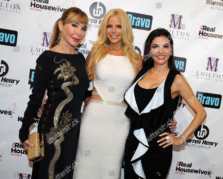 Editorial image of The Real Housewives of Miami Season 3 Premiere, Miami Beach, USA - 6 Aug 2013