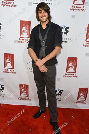 Stock Picture of Derek Olds attends the Recording Academy Producers and Engineers Wing 8th Annual Grammy Week Event at The Village Recording Studios, in Los Angeles