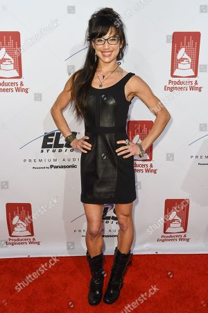 Stock Photo of Christine Wu attends the Recording Academy Producers and Engineers Wing 8th Annual Grammy Week Event at The Village Recording Studios, in Los Angeles