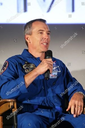 Astronaut Drew Feustel at the Twentieth Century Fox 'The Martian' Trailer Launch Event at United Artists La Canada Theater, in La Canada Flintridge, CA