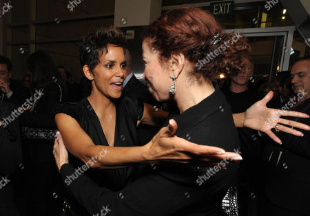"""Halle Berry and Roma Maffia attend the after party for the world premiere of """"The Call"""" at the Arclight Hollywood on in Los Angeles"""