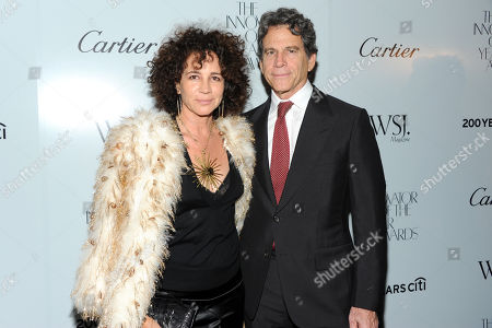 "Honoree Eric Eisner and wife Lisa Eisner attend WSJ. Magazine's ""Innovator of the Year Awards"" at the Museum of Modern Art on in New York"