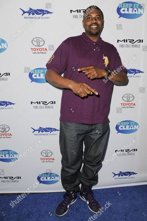 """Gerald Johnson arrives at """"Keep It Clean"""" Live Comedy Benefit held at Avalon Hollywood, in Los Angeles"""