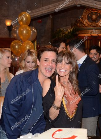 "Christian Le Blanc and Jess Walton seen at ""The Young And The Restless"" 41st Anniversary, on in Los Angeles, Calif"