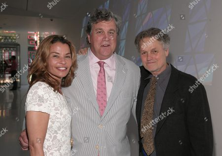 From left, screenwriter Jenny Lumet, Sony Pictures Classics Co-Founder Tom Bernard and director Jonathan Demme attend the 2013 Envision Awards presented by the Museum of the Moving Image, on in New York