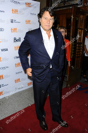 """Producer Robert Lantos arrives at the premiere of """"The Invisible Woman"""" on day 5 of the Toronto International Film Festival in the Visa Screening Room at the Elgin Theatre, in Toronto"""