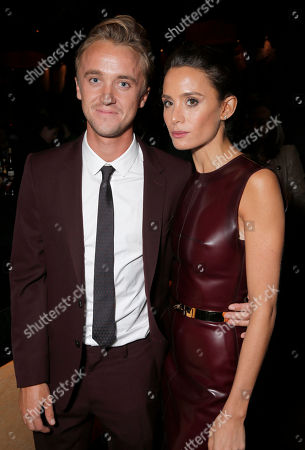 IMAGE DISTRIBUTION FOR FOX SEARCHLIGHT - Tom Felton and Jade Olivia attend Fox Searchlight's Toronto International Film Festival Party on Saturday, September 7th, 2013 in Toronto, Canada