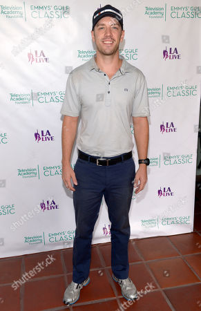 Bret Harrison arrives at the 15th Emmys Golf Classic, presented by the Television Academy Foundation, at the Wilshire Country Club in Los Angeles