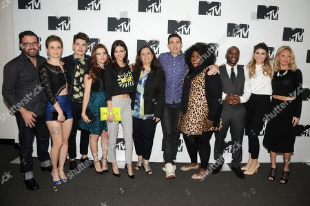 Editorial picture of 2014 MTV Upfront Press Junket, New York, USA - 24 Apr 2014