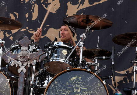 Musician Jeff Fabb of Black Label Society performs during 2014 Rock On The Range at Columbus Crew Stadium on in Columbus, Ohio