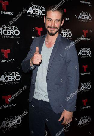 Stock Image of Oscar Priego