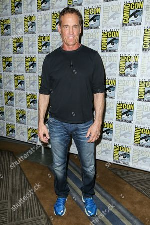 "John Wesley Shipp attends the ""Flash"" press line on day 3 of Comic-Con International, in San Diego"