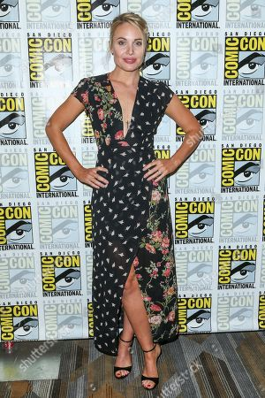 """Stock Image of Leah Pipes attends the """"The Originals"""" press line on day 2 of Comic-Con International, in San Diego"""