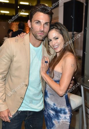 Erik Fellows, left, and Terri Ivens attend the 2016 Daytime Peer Group Celebration presented by the Television Academy at their Saban Media Center, in North Hollywood, Calif