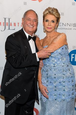 Stock Photo of Neil Sedaka, left, and Leba Sedaka attends the Fashion Institute of Technology Annual Gala benefit at The Plaza, in New York