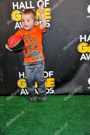 Titus Ashby makes an appearance in the Press Room at the 4th Annual Hall of Game Awards on Feb, 15, 2014 in Santa Monica, Calif