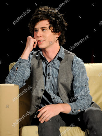 """MARCH 26: Actor Charlie McDermott participates in the Academy of Television Arts & Sciences Presents an Evening with """"The Middle"""" panel on in North Hollywood, California"""