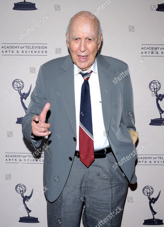 """OCTOBER 13: Carl Reiner Honoree Carl Reiner arrives at the Academy of Television Arts & Sciences Presents: """"An Evening Honoring Carl Reiner"""" at the Leonard H. Goldenson Theatre on in North Hollywood, California"""