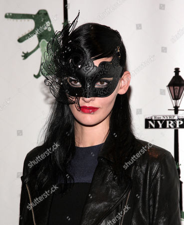 Fashion model Amanda Murphy attends New York Restoration Project's 18th Annual Hulaween gala on in New York