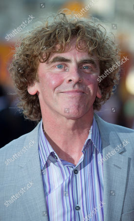 Director Declan Lowney arrives at the London Premiere of Alan Partridge: Alpha Papa at a central London cinema