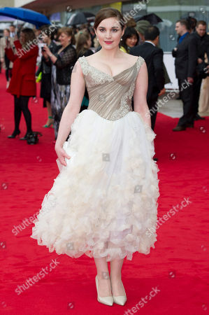 Editorial image of British Academy Television Awards BAFTA: Outside Arrivals - 12 May 2013