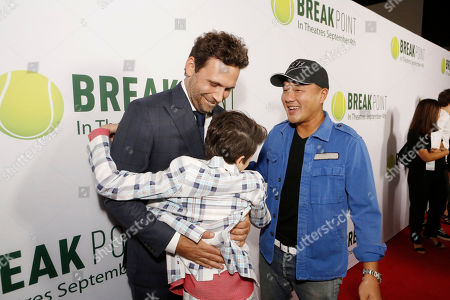 Jeremy Sisto. Joshua Rush and Writer/Co-producer Gene Hong seen at Broad Green Pictures Special Screening of 'Break Point' at TCL Chinese Theatre, in Hollywood, CA
