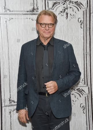 """Actor David Rasche participates in the BUILD Speaker Series to discuss the television series """"Impastor"""" at AOL Studios, in New York"""