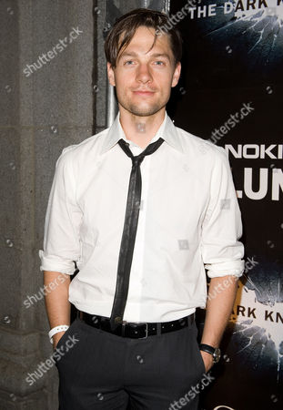 """Actor Gregory Smith attends the Canadian Premiere of """"The Dark Knight Rises"""" at One King West Hotel & Residence, in Toronto"""