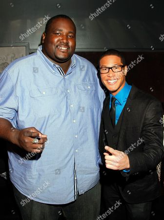 Actor Najee De-Tiege arrives at Chambored Vodka Goes Hollywood Hosted by Boris Kodjoe at Chinese 6 Theatre Ballroom in Hollywood, Calif