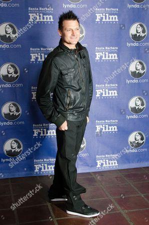 Stock Photo of Joshua Pomer attends the Cinema Vanguard Award ceremony at the Santa Barbara International Film Festival, in Santa Barbara, Calif