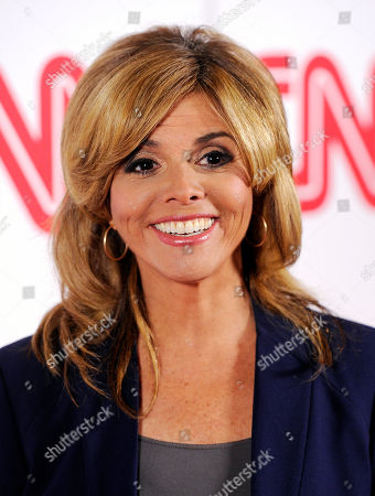 Jane Velez-Mitchell of the HLN network poses at the CNN Worldwide All-Star Party,, in Pasadena, Calif