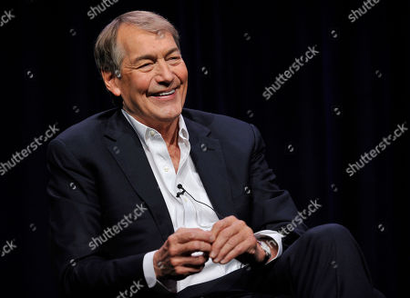 """Charlie Rose, host of """"Charlie Rose: The Week,"""" takes part in a panel discussion during the PBS Summer 2013 TCA press tour at the Beverly Hilton Hotel in Beverly Hills, Calif. Rose, who is also the anchor of CBS This Morning,"""" will receive the 2015 Walter Cronkite Award for Excellence in Journalism from Arizona State University's Cronkite School, the school announced"""