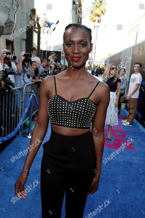 """Jewelle Blackman seen at EuropaCorp Presents the World Premiere of """"Nine Lives"""" at TCL Chinese Theatre, in Los Angeles"""