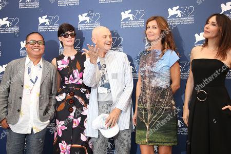 Editorial image of FF Jury Photo Call, Venice, Italy - 2 Sep 2015
