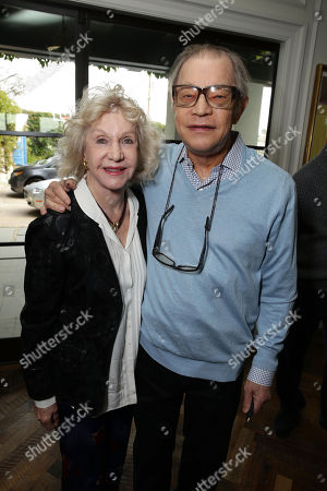 Stock Photo of Pat York and Michael York seen at Focus Features 'The Danish Girl' Brunch hosted by Anne Hathaway and Dustin Lance Black, in Beverly Hills, CA