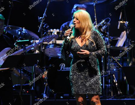 Lisa Matassa performs at the George Jones Tribute - Playin' Possum: The Final No Show, on at the Bridgestone Arena in Nashville, Tenn