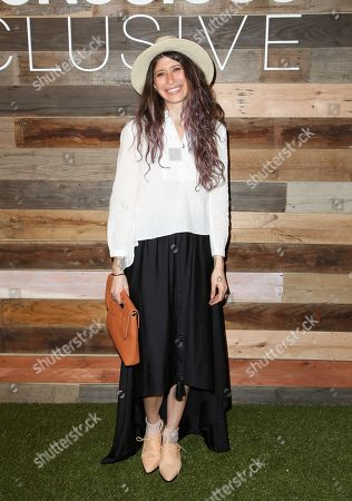 Pamela Love seen at H&M's Conscious Collection, on in West Hollywood, California