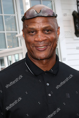 Darryl Strawberry attends the Hank's Yanks 1st Annual Golf Classic at Trump Golf Links, in New York
