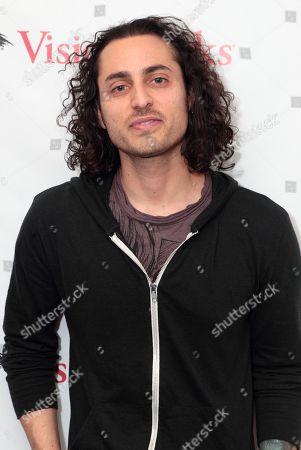 Editorial photo of Keaton Simons visits Mix 106.1 in , Philadelphia, USA - 4 Feb 2013