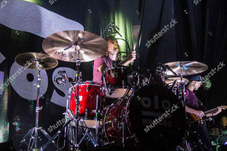 Jesse Kongos with Kongos performs during the Lunatic Tour 2015 at Center Stage Theater, in Atlanta